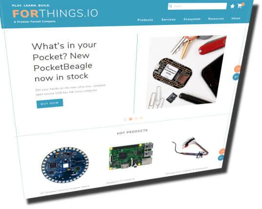 Web de innovación forthings.io