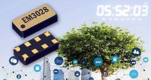 Reloj en tiempo real de ultra bajo consumo