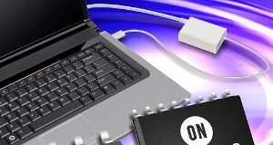 Adaptador USB-PD de 65 W con FET de súper unión