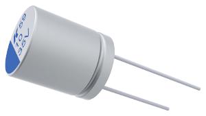 Condensadores electrolíticos SMD y through-hole