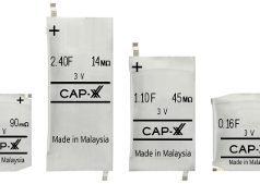 Supercondensador prismático de 3 V para wearables