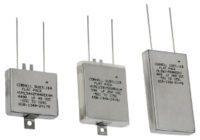 Electrolíticos planos para aplicaciones militares