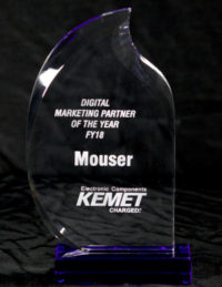 Mouser nombrado socio de marketing digital global del 2017
