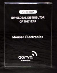 Mouser nombrado distribuidor top global 2017 por Qorvo