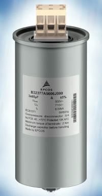 Condensadores trifásicos para filtros de salida