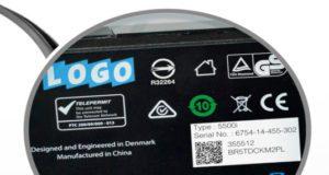 Etiquetas de instrucciones para dispositivos electrónicos
