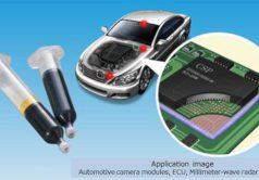 Relleno resistente al calor para electrónica de automoción