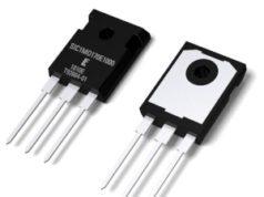 MOSFET SiC de 1700 V para aplicaciones de control de potencia