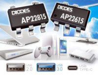 Switches de alimentación para puertos USB