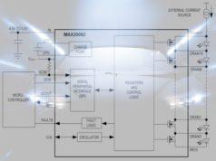 Administrador matricial de LEDs para automoción