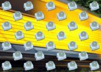 LEDs SMD con ángulo de apertura de haz de 30°