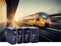 Fuentes para carril DIN en aplicaciones ferroviarias