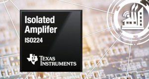 Amplificador aislado de alta precisión