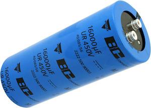 Condensadores electrolíticos atornillables
