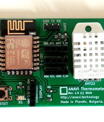 Termómetro para automatización