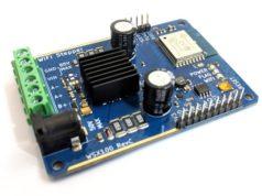 Controlador para motores de paso vía Wi-Fi