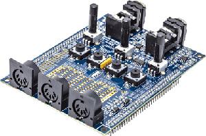 Módulo de audio para proyectos DSP