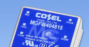 Convertidor CC/CC de 40 W para aplicaciones exigentes