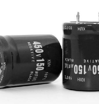 Condensadores electrolíticos con electrolito de base acuosa