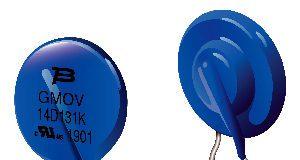 Componentes de protección ante sobretensiones con GDT y MOV