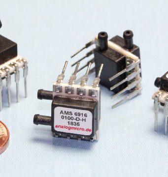 Sensores de presión miniaturizados