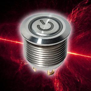 Pulsador de botón antivandálico