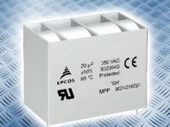 Condensadores para filtrado AC con diseño robusto