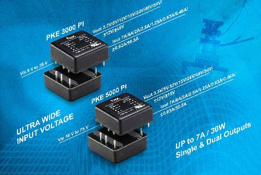 Módulos convertidores de potencia DC-DC