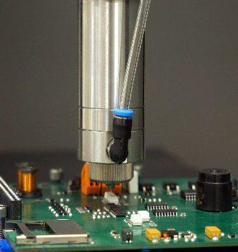 Microdispensador para proteger componentes