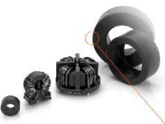 Choques de modo común con bobinas