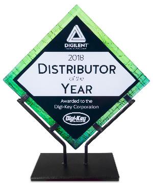 Digilent reconoce al distribuidor del año 2018