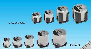 Condensadores electrolíticos híbridos