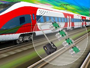 Sistema de control de puertas en trenes