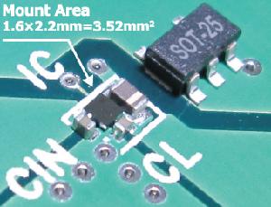 Convertidores CC/CC step-down de 600 mA y 4 MHz