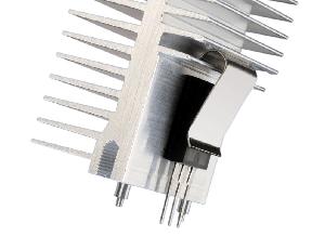 Perfiles para refrigeración de aluminio extruido