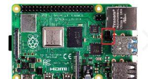 Condensador de polímero en la Raspberry Pi 4