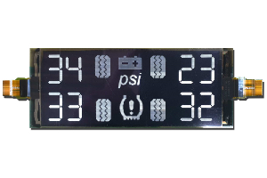 """Display PMOLED gráfico de 320x132 px en solo 3.83"""""""