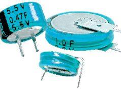 Supercondensadores de botón de doble capa
