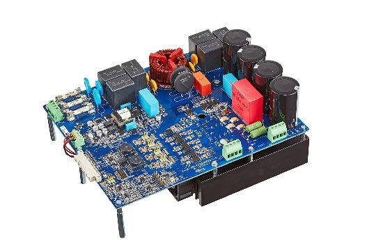 Placa de evaluación de MOSFET para motores