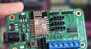 Placa de desarrollo Wi-Fi para soluciones LED