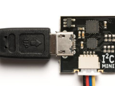 Bridge de USB a I²C compatible con I²CDriver