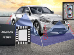 Circuito de administración de potencia para cámaras en vehículos