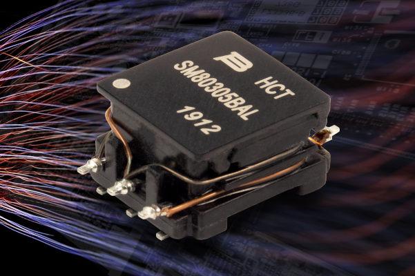 Mini transformadores de potencia con alta distancia de fuga