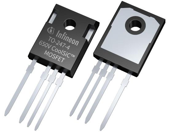 MOSFET SiC de 650 V