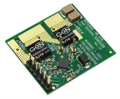Tarjeta de evaluación para controladores GaN de 650 V