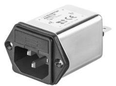 Filtros RFI con fusible o interruptor