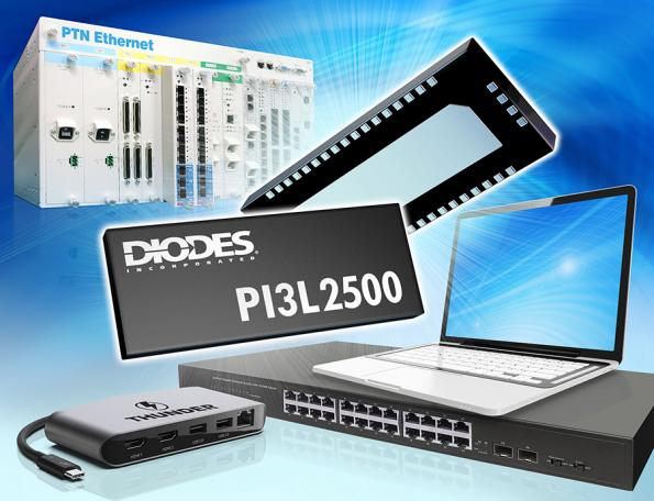 Mux/demux LAN Ethernet de 2.5, 5 y 10 Gbps