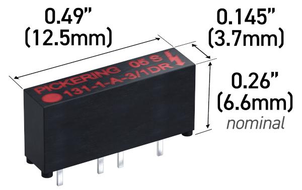 Relés reed de elevada tensión para vehículos híbridos