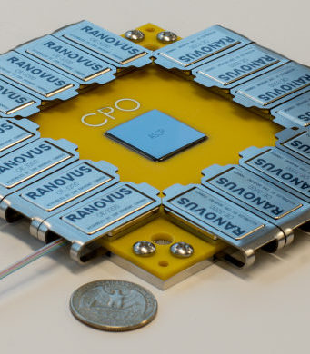 Motor fotónico de silicio para centros de datos y 5G