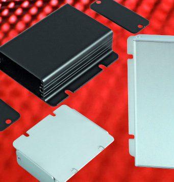 Cajas de aluminio extruido con brida para montaje en superficie